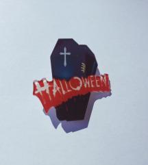 Halloween kovčeg broš