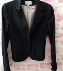 H&M crni pamučni sako ***