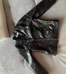 H&M kozna jakna za devojcice