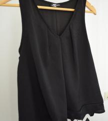 Haljina crno bela