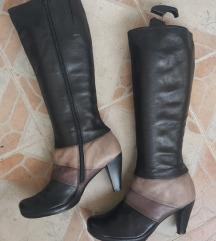 HISPANITAS Spain kozne duboke damske cizme