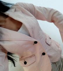 Sako jakna puder boje