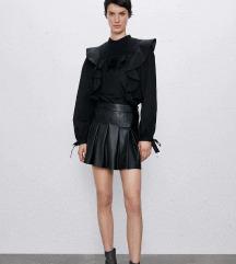 Zara kozne suknja-pantalone M