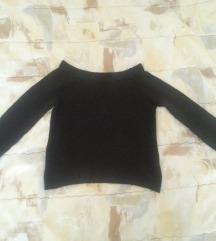 Crni kratki svečani džemperčić