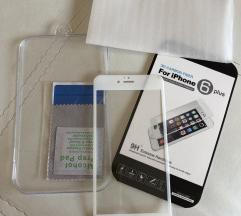 Silikonsko 3D staklo za iphone 6 PLUS