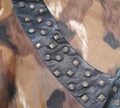 Animal print bluza/tunika