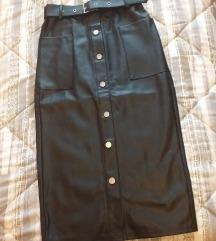 Suknja kozna 34. Besplatni ptt