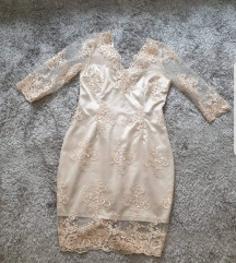 Nova cipkana svecana haljina SNIZENA