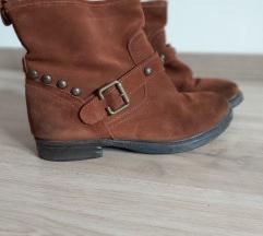 Kožne kraće čizme