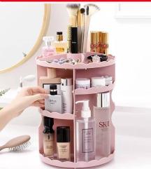 Rotirajuci stalak za kozmetiku