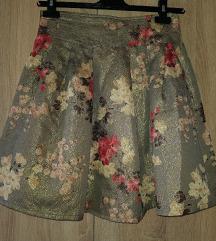 Sivo zlatna suknjica