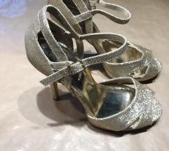 Guess zlatne sandale
