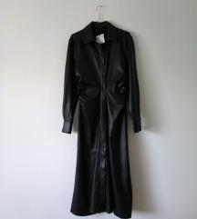 Rezz ZARA faux leather haljina