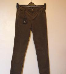 MASSIMO DUTTI-Plisane pantalone,40