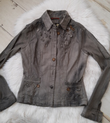 Medena jaknica ombre 34/36