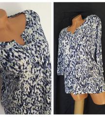 LAURA TORELLI ❤ lelujava plavičasta bluza VISKOZA