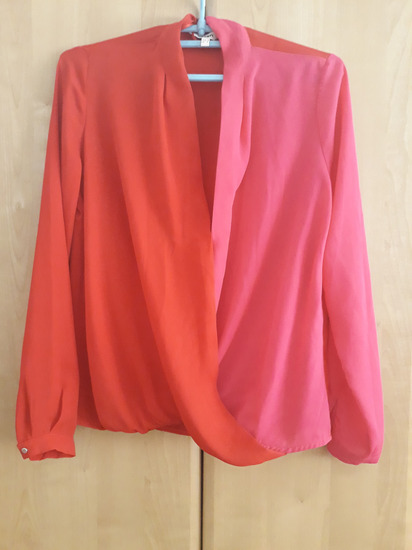 A la Zara color block bluza - SNIZENA 1400