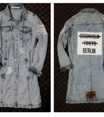 rezz RE-DRESS teksas jakna XS