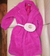 SNIZENJE.. NOVI Pink TEDDY coat 🍭  Cena fixna