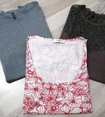 Majice kratkih rukava (3kom.) - vel. M/L