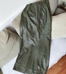 Dugacka zmijska suknja