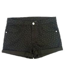 H&M crni šorts XS-S