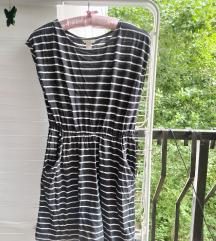Prugasta letnja haljina