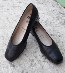 RELAX ARA kozne crne vrhunske cipele NOVE
