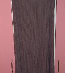 BERSHKA plisirana top haljina NOVO