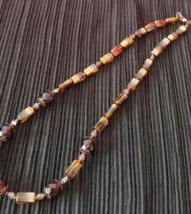 Ogrlica češko staklo