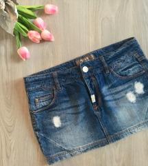 Pull & Bear teksas suknja