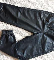 Zara kožne pantalone  S