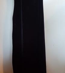 Svecana duga crna haljina