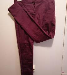 Bordo pantalone veličine S