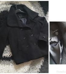 Rasprodaja! AMISU oversized crni kaput