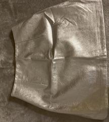 Zara srebrna suknja