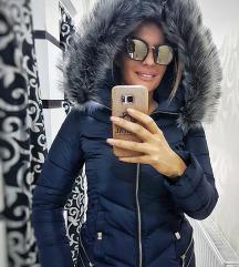 Zimska jakna sa bogatim krznom