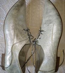 Solo kožne srebrne cipele 37
