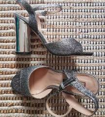 Sandale sa blok petom 38