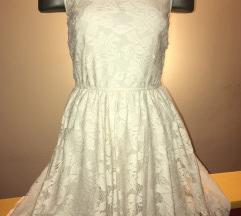 Letnja krem haljina ZARA
