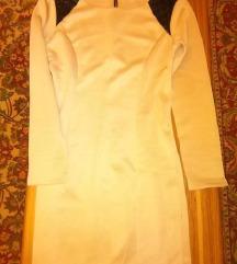 Krem haljina, s/m velicina