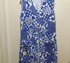 Vintage lentja bademantil haljina