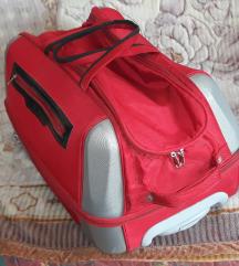 MONOPOL kofer na tockove putna torba sa tockicima