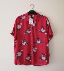 H&M floral oversized bluza NOVO etiketa