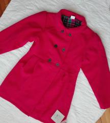 Nov kaput sa etiketom za devojcice vel 128