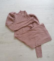 Roze haljina do kolena SADA 500DIN