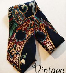 Vintage kravata sa rusticnim morivima