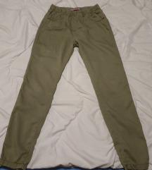 Letnje maslinaste jegging pantalone 12