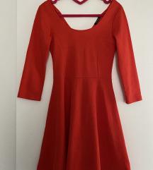 New yorker crvena haljina nova