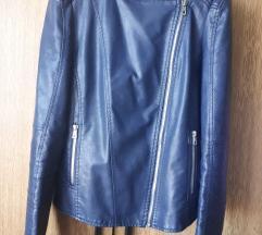 Kozna jakna teget M